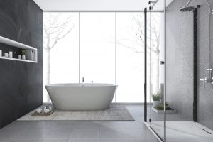 Reformas Baños reforma integral modern design bathroom in winter