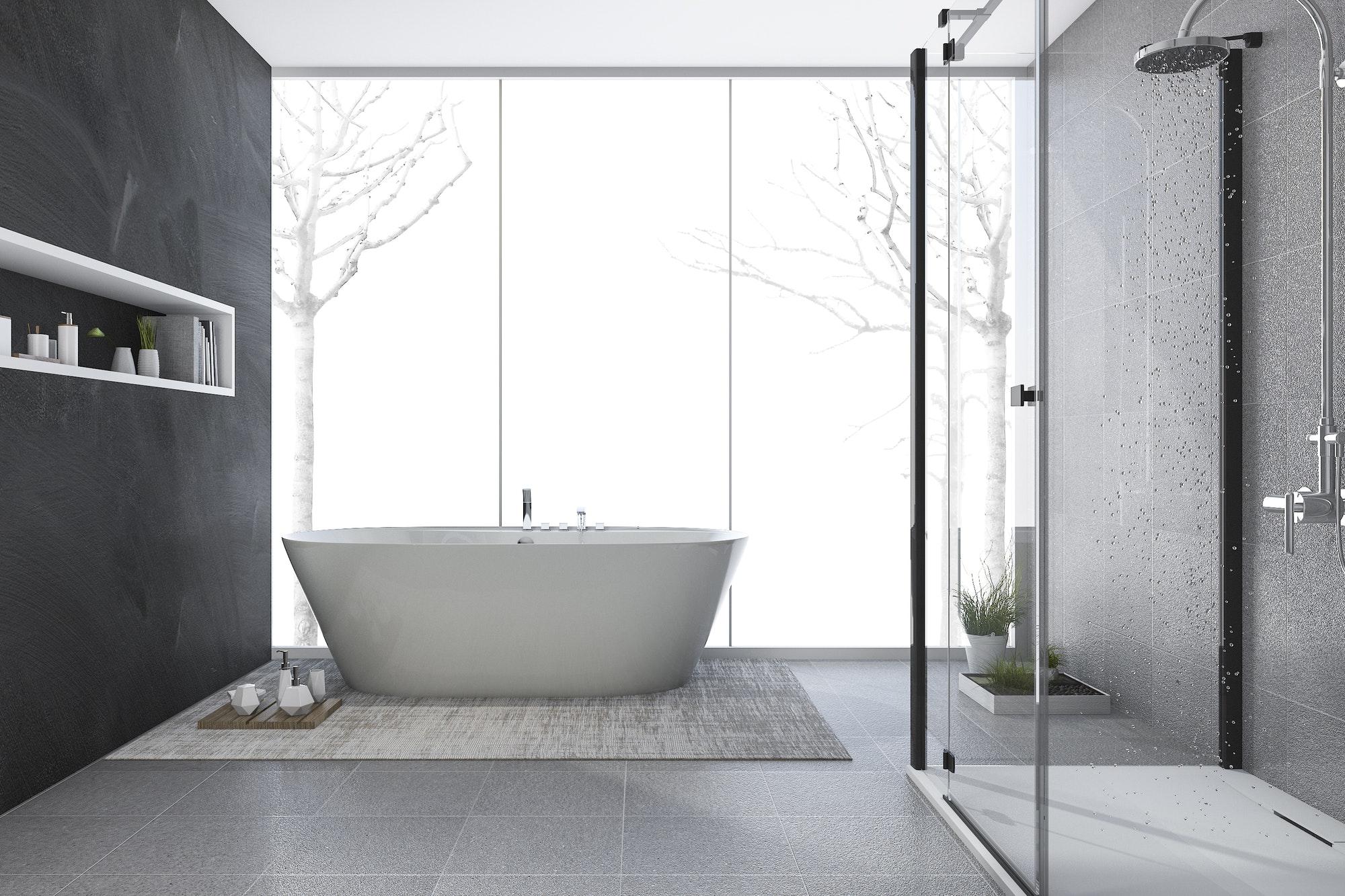 Reformas Baños reforma integral modern design bathroom in winter